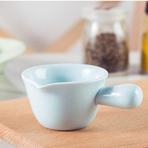 mytxfh Kaffeetassen 130Ml Keramik Sauce Dishes Design Porzellan Salatdressing Oder Ketchup Relish Gericht Relish Dish