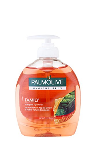 Palmolive Flüssigseife Hygiene-Plus Family, 1er Pack (1 x 300 ml) (Seife Familie)