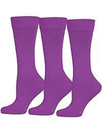 SaferSox Business-Socken 3er Vorteilspack in vielen Farben erhältlich - Für tagelanges Tragen ohne Waschen