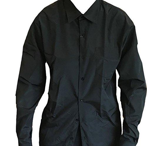 Camicia formale nera, taglie dai 6 mesi ai 15 anni nero black