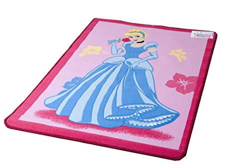 Lancashire Textiles Disney Spielmatte,Educational Alphabet, 95 x 133 cm, VariousDesigns Playmatsverschiedene Designs erhältlich Cinderella Princess Pink -