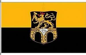 Königsbanner Hissflagge Brücken (Pfalz) - 60 x 90cm - Flagge und Fahne