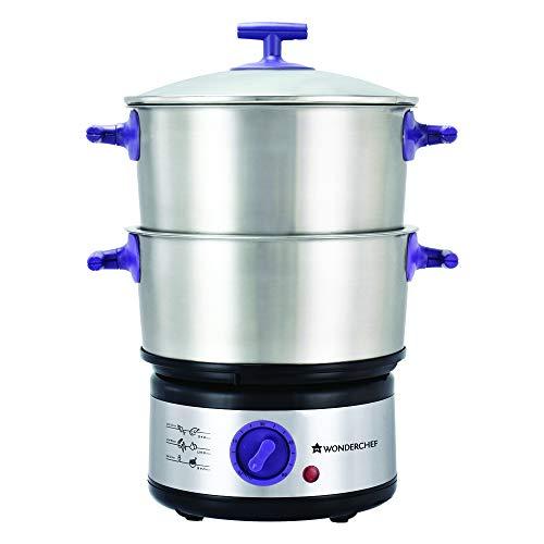 Wonderchef Nutri-Steamer with Egg Boiler