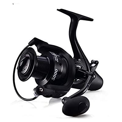 WEATLY Spinning Reel 12+1 Shielded Stainless Steel - Carbon Fiber Drag for Live Liner Bait Fishing Action from WEATLY