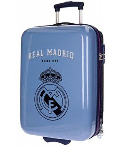 Real Madrid Hala Equipaje Infantil, 55 cm, 34 Litros, Morado