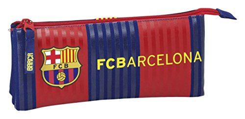 Safta Estuche Escolar F.C. Barcelona 1ª Equip. 16/17 Oficial 220x30x100mm