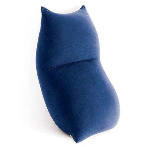 Terapy Ergonomic Living Beanbag, max7-8526, blue, 170cm x 70cm x 50cm