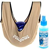 Bowling Ball Pflege Set Cleaner & Pro Bowl Giant See-Saw, Gold