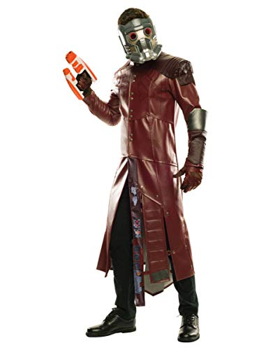 Horror-Shop Star-Lord Collectors Edition Kostüm mit der Lizenz von Guardians of The Galaxy Vol. 2 Standard (Guardians Galaxy The Starlord Of Kostüm)