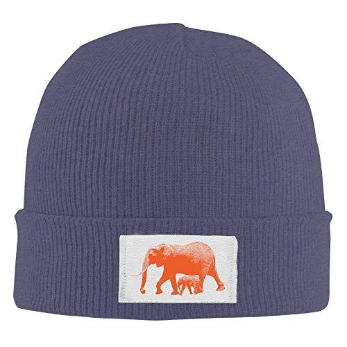 Erwachsenen Bamboo Pattern Elastic Strickmütze Winter Outdoor Warm Skull Hats One Size -