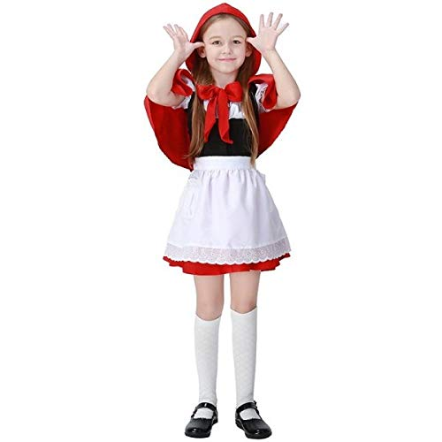 Little Red Riding Hood Inspired Kids Fancy Dress Costume- 4-6 ()