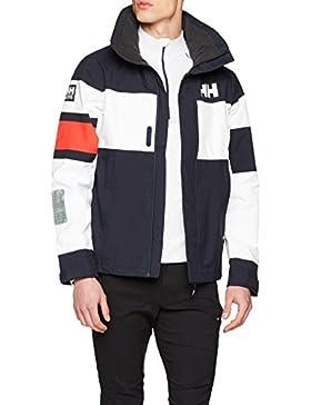 Helly Hansen para hombre sal luz chaqueta, hombre, color azul marino, tamaño Medium