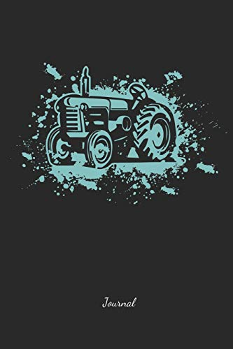 e67220c27 Farmer | Journal: Tractor - Lined Farming Notebook - Great Accessories &  Gift Idea for Farmer & Farm Lover.