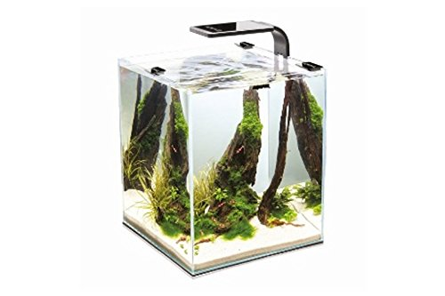 Aquael Aquarium Shrimp Set SMART LED, Komplettset mit moderner LED-Beleuchtung (weiß, 10 Liter)
