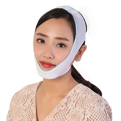 CY Facelifting-Verband, Straffung Und Straffung Der Haut Reduziert Die Reparaturmaske Für Doppelkinn-V-Gesichtsbinden (Size : M)