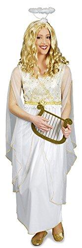 Engel Kostüm Kleid Lucia für Damen Gr. 36 38