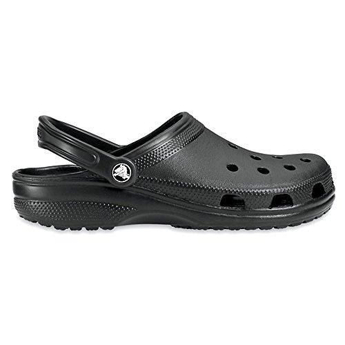 Crocs Classic Sabot U, Hommes de Pointure Noir (Black)