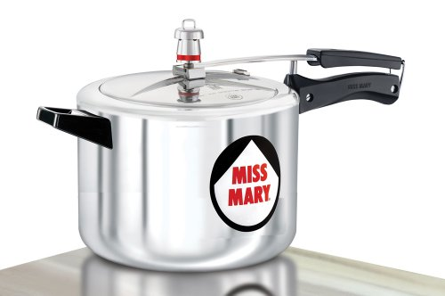 Hawkins Miss Mary Aluminium Pressure Cooker, 5.5 Litres  available at amazon for Rs.1299