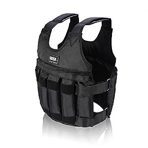 Fdit Justierbare Gewichtswest gewichtete Weste/Jacken Übungs Training Weste maximale Last 20kg/50kg (50kg)