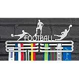 De lopers muur voetbal medaille Hanger Display