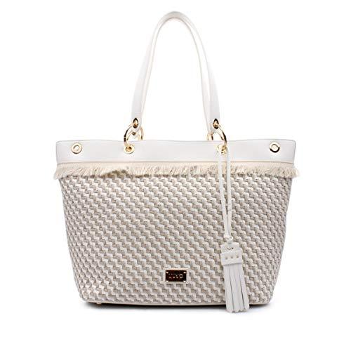 Liu Jo N18225 E0002 Shopper Donna NATURALE