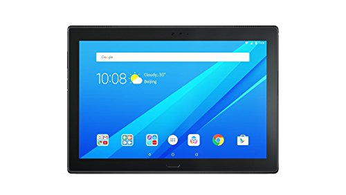Lenovo Tab4 10 Plus 25,5 cm (10,1 Zoll Full HD IPS Touch) Tablet-PC (Qualcomm Snapdragon MSM8953, 4GB RAM, 64GB eMCP, LTE, Android 7.1.1) schwarz -