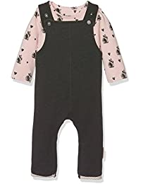 Noppies Baby-Mädchen Body G Polyesteraysuit Set Sweat Ispani