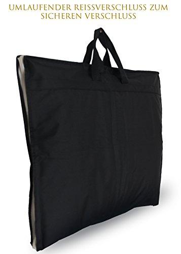 OWLMO - Portatrajes de viaje de poliéster Unisex adulto negro negro