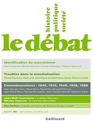 Le Débat N° 201 (Septembre - Octobre) (REVUE LE DEBAT) par Collectifs