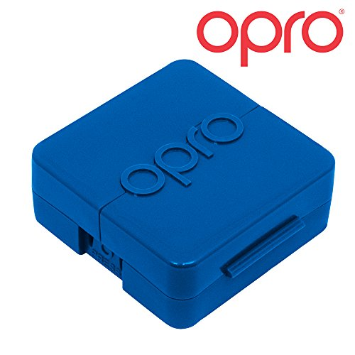 Opro Biomaster Antimicrobial Mouthguard Case (Blue)