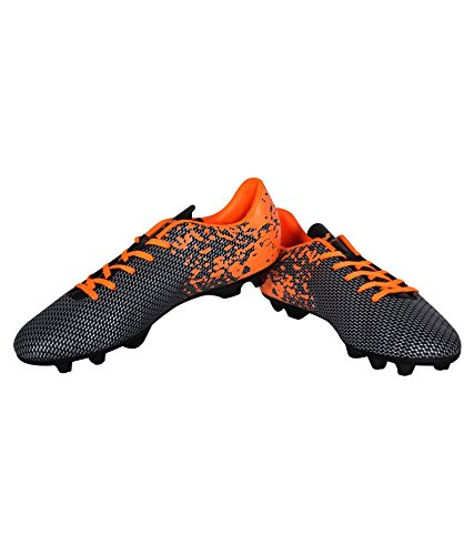 Nivia Premier 311RED04 Football Studs Black and Orange