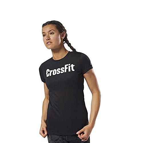 Reebok-T-Shirt Forging Elite Fitness Speedwick, Donna, ARWKF17165, Smoky Volcano, M