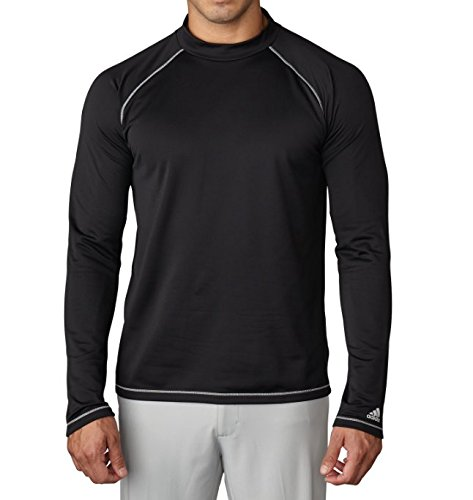 Schwarz Mock Turtleneck (adidas Climawarm Mock Turtleneck Baselayer Herren schwarz XS)