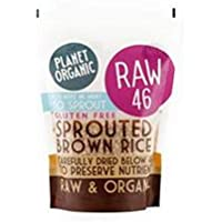 Planet Organic Sprouted Brown Rice 400g (Case of 8)