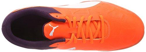 Puma Unisex-Erwachsene Tenaz Handballschuhe, Orange (Shocking Orange-Puma White-Shadow Purple 03), 46 EU - 7