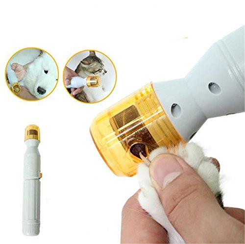 Uni Best Mahlwerk von Nägel Tiere Mahlwerk ELECTRIQUE Tiere geringem Rauschen Nagelfeile ELECTRIQUE Kit Grinder Elektrische der Nägel für Hunde und Katzen