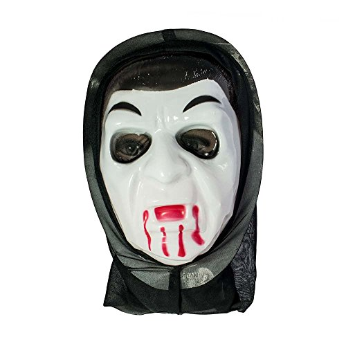 Con cappuccio halloween dracula maschera | ideale per halloween,