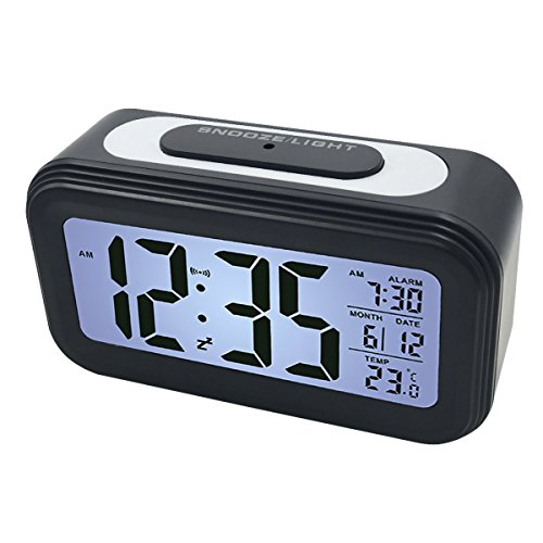 EASEHOME Reloj Despertador Digital