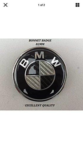 insigne-pour-coffre-capot-avant-de-voiture-logo-bmw-noir-et-blanc-effet-fibre-de-carbone-82-mm-compa