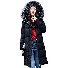 151332de67bfd Plumas Mujer Otoño Invierno Largos Abrigo Acolchado Elegante Colmar Cálido  Casual Abrigos Invierno Manga Larga Encapuchado
