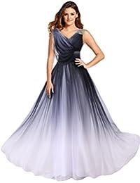 327b1d51126 Gorgeous Bride Abendkleider Elegant Lang 2017 Damen Chiffon A-Linie  Ballkleider Festkleider Cocktailkleider