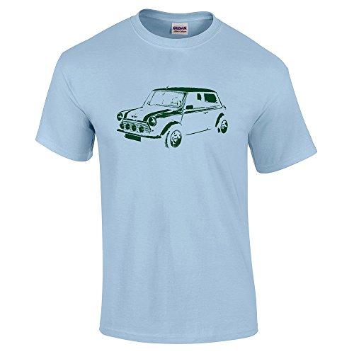 mini-cooper-childrens-tees-kids-t-shirt-austin-retro-car-ts444-m-age-7-8-light-blue