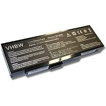 Batteria LI-IONI 6600mAh 10.8V NERO per FUJITSU-SIEMENS AMILO K7600, K7600D, K7610 etc. sost. BP-8089, BP-8089P, BP-8089X, BP-8389 etc.