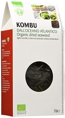 Probios Alghe Kombu Bio - [Confezione da 8 x 50 g]
