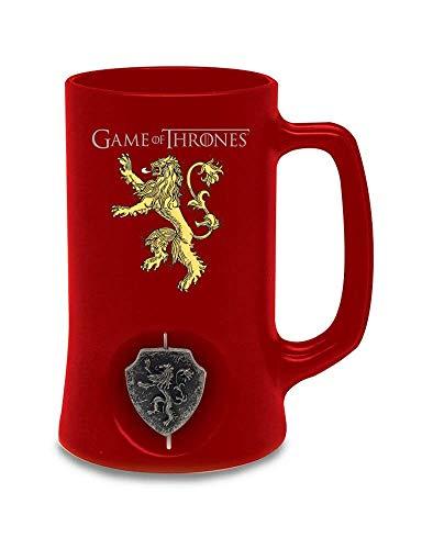 SD Cerveza 3D logo rotatorio Lannister