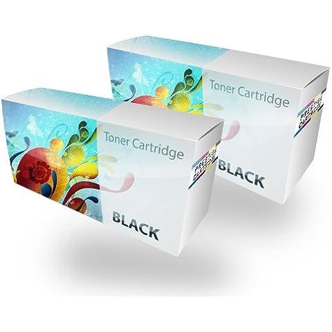 Prestige Cartridge CRG725 - Pack de 2 cartuchos de tóner láser para Canon LBP-6000/LBP-6018/MF-3010,