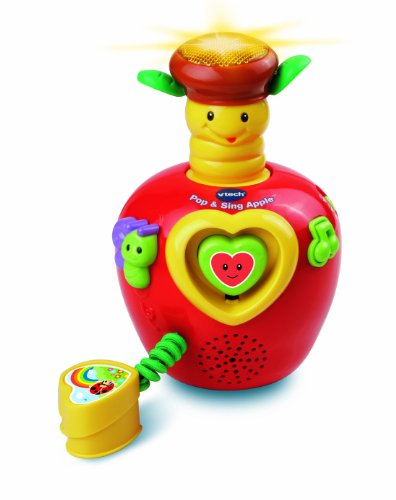 VTech Pop and Sing Apple Toy