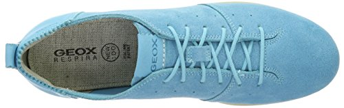 Geox Damen D New Do C Sneakers Türkis (TURQUOISEC4015)