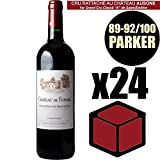 X24 Château de Fonbel 2014 75 cl AOC Saint-Emilion Grand Cru Rouge Rotwein