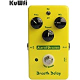 KuWFi Aural Dream Breath Delay Effets De Guitare électrique Pédale Copier Mad Professor Delay True Bypass